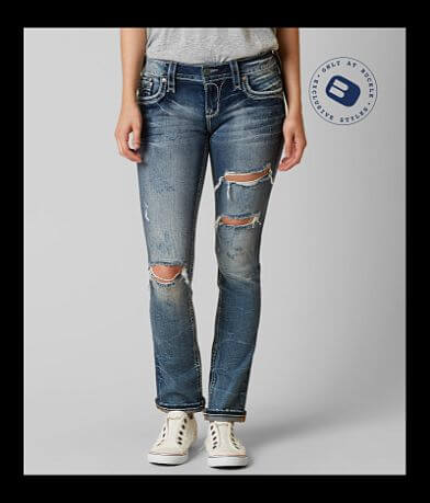 Rock Revival Taye Straight Stretch Jean