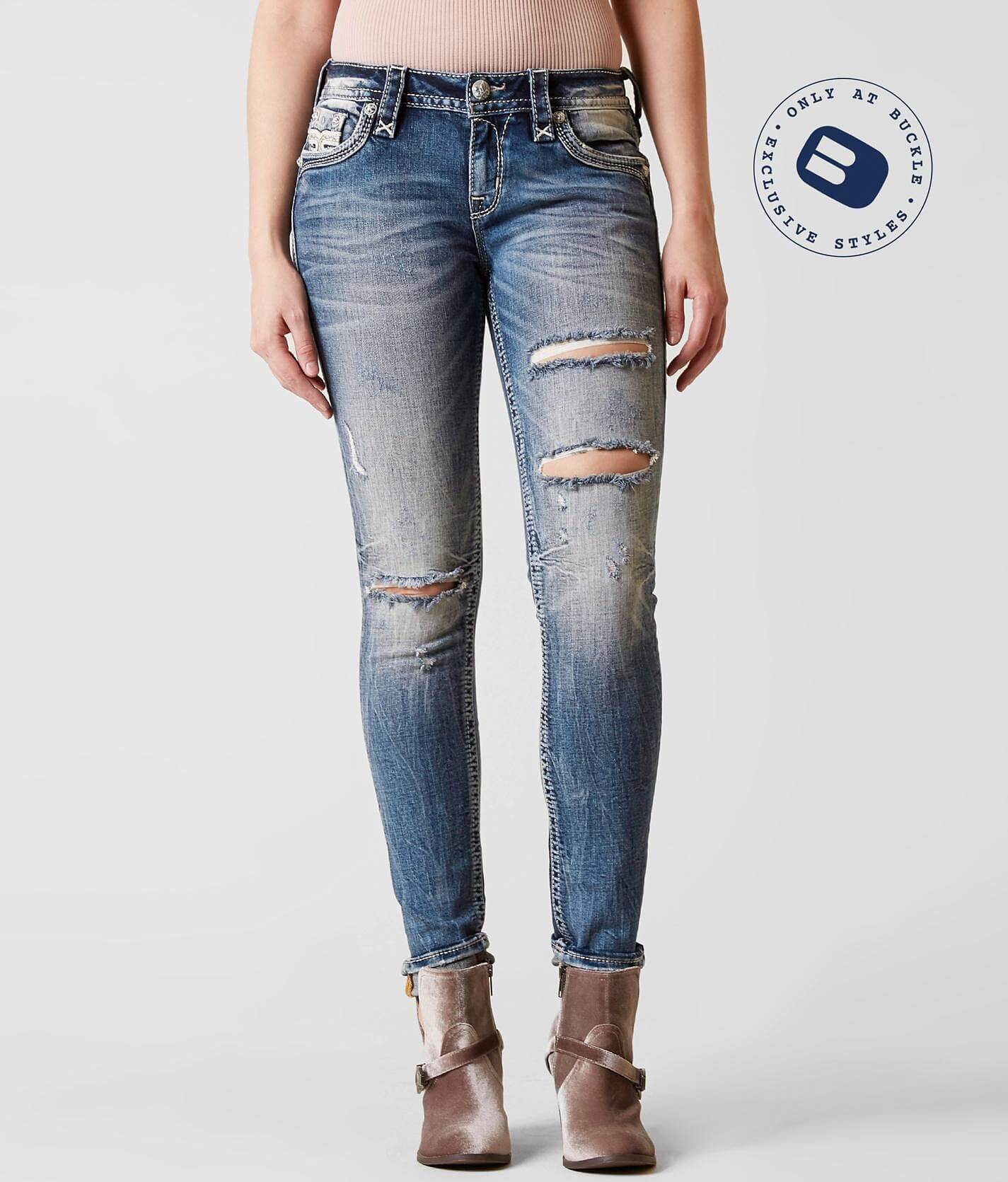 Rock Revival Yalen Mid-Rise Skinny Stretch Jean