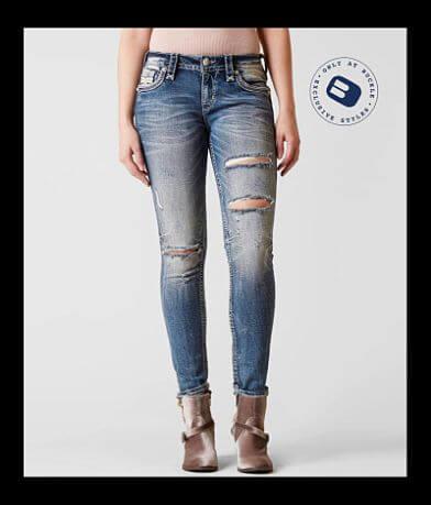 Rock Revival Yalen Mid-Rise Skinny Stretch Jean
