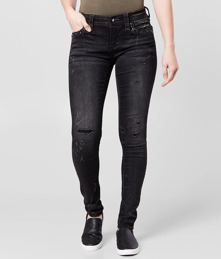 Rock Revival Beliss Mid-Rise Skinny Stretch Jean front view