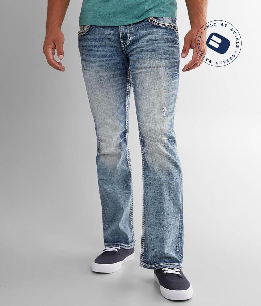 Rock Revival Daybreak Slim Boot Stretch Jean front view