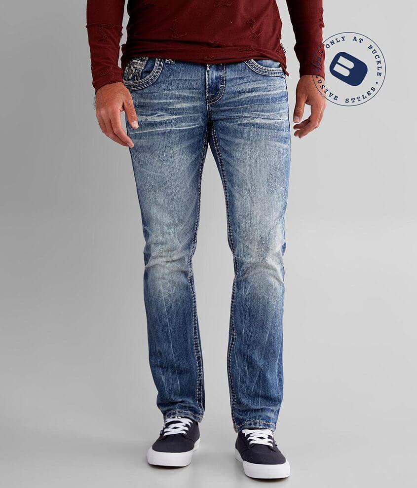 Rock Revival Phantom Slim Straight Stretch Jean front view