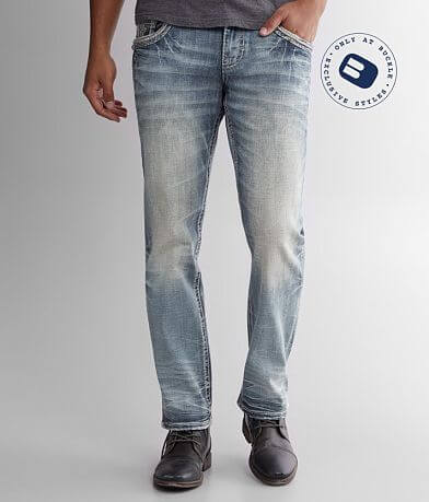 Rock Revival Kester Relaxed Taper Stretch Jean