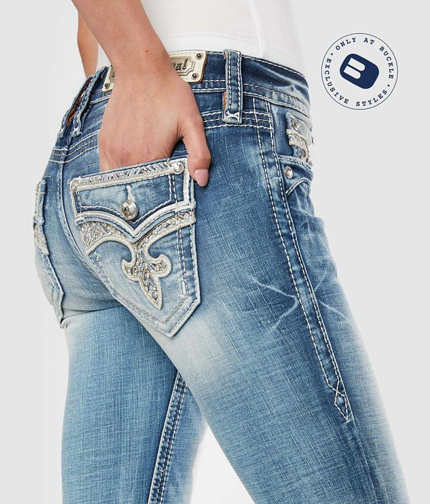 Rock Revival Leni Ankle Skinny Stretch Jean front view