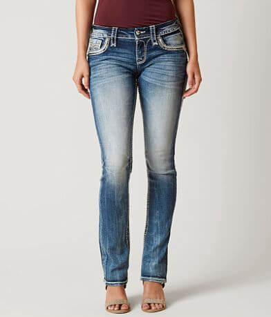 Rock Revival Leni Straight Stretch Jean