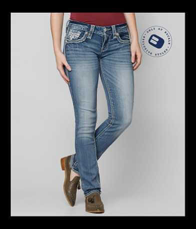 Rock Revival Liri Straight Stretch Jean
