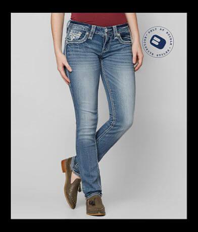 Rock Revival Liri Straight Stretch Jean