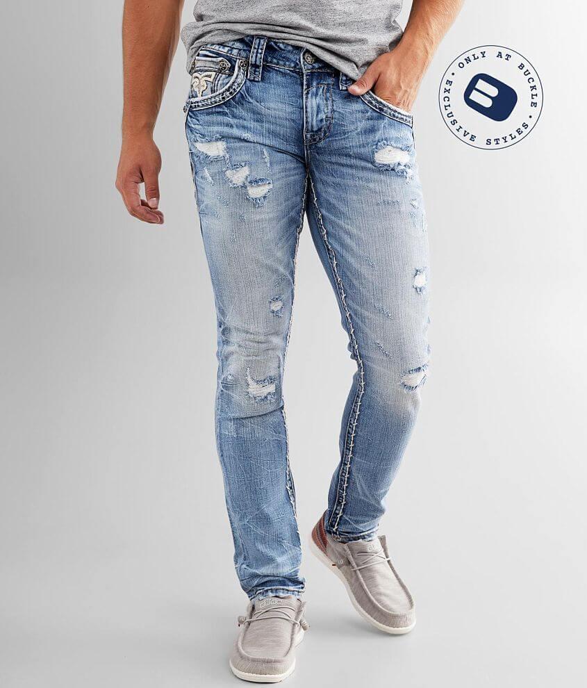 Rock Revival Jaser Slim Taper Stretch Jean front view