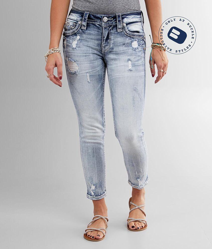 Rock Revival Rima Ankle Skinny Stretch Jean front view
