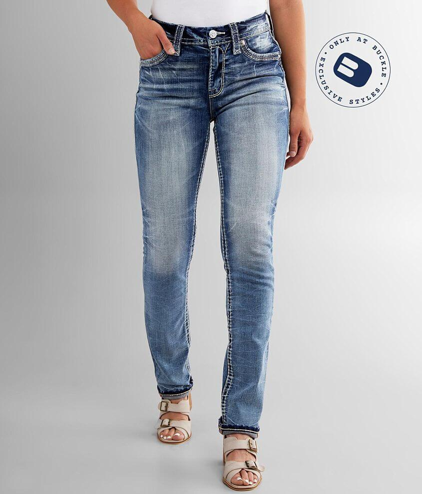 Rock Revival Rima Easy Straight Stretch Jean front view