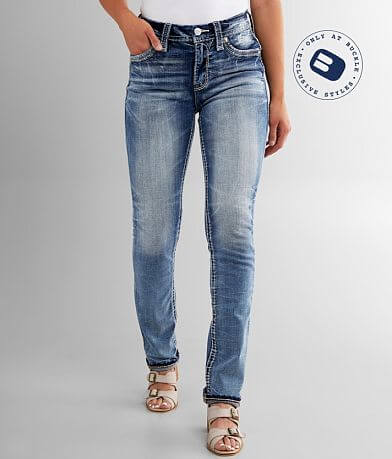 Rock Revival Rima High Rise Easy Straight Jean