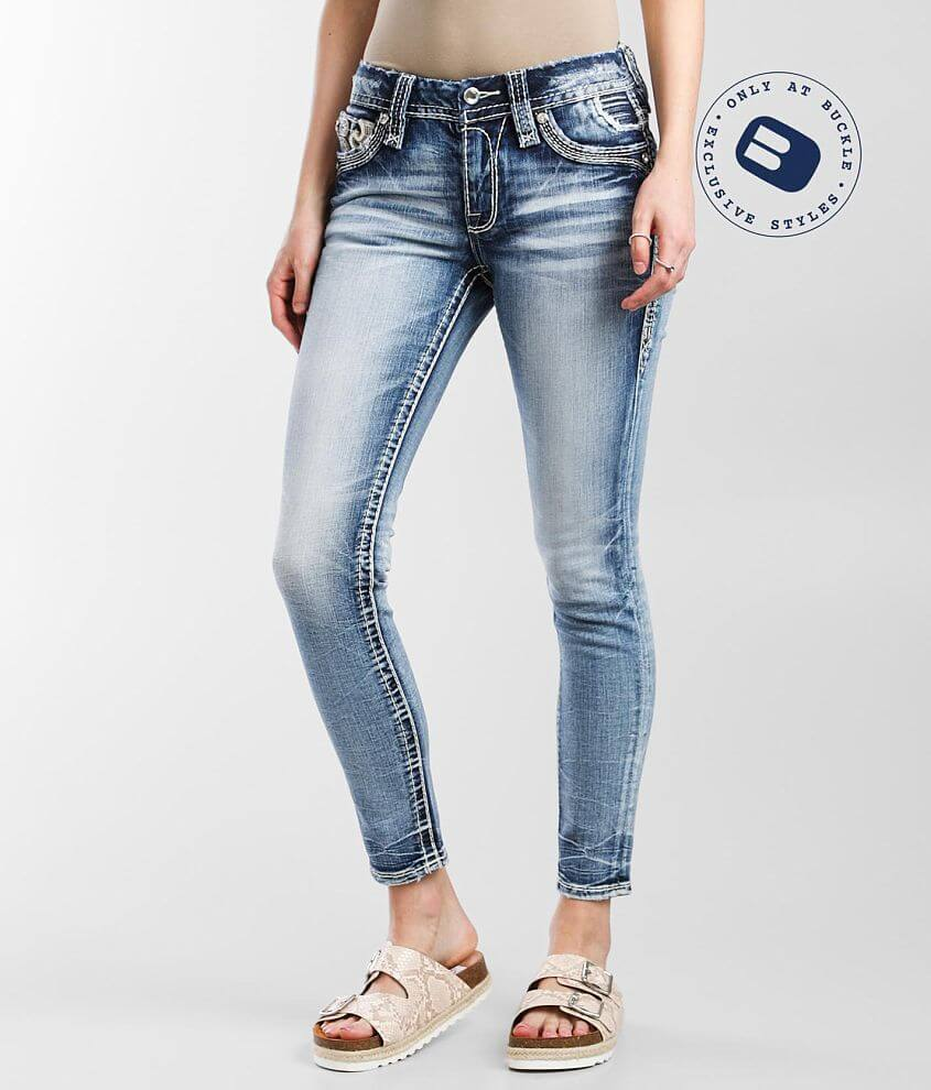 Rock Revival Rima Mid-Rise Ankle Skinny Jean front view