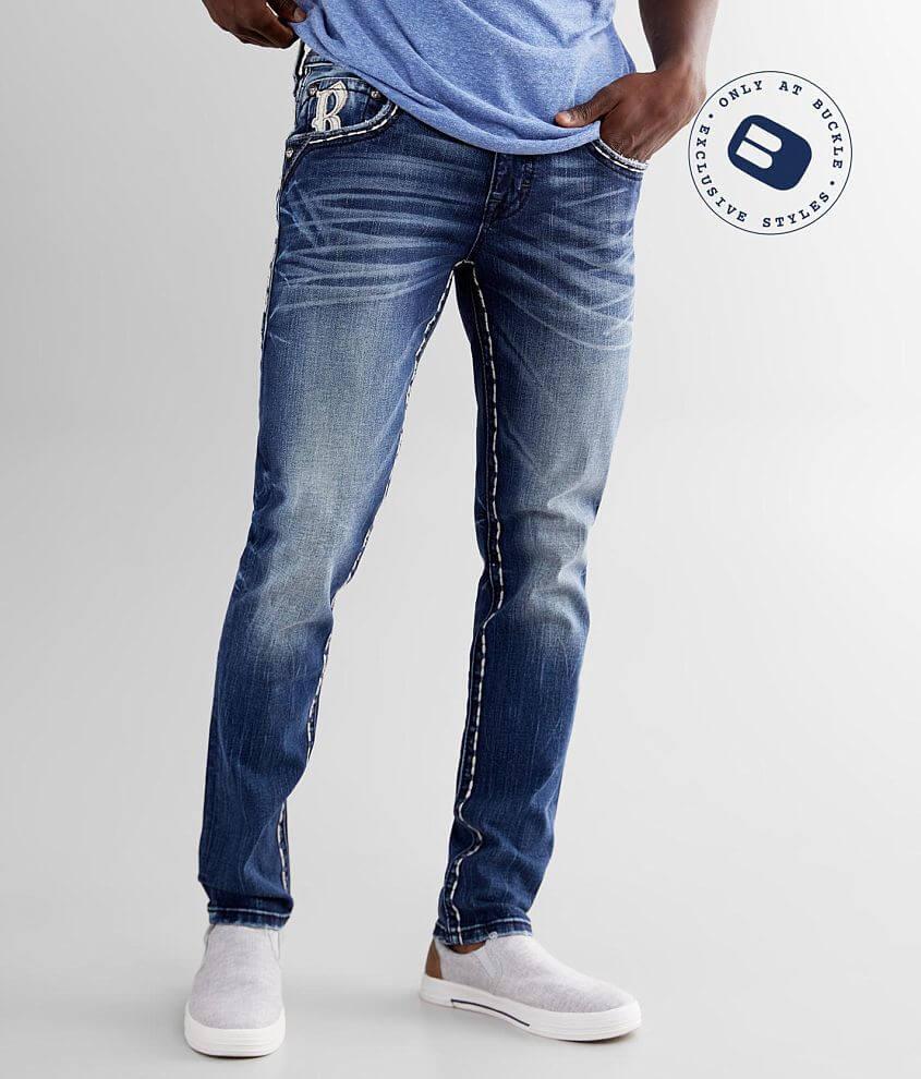 Rock Revival Brighton Slim Taper Stretch Jean front view