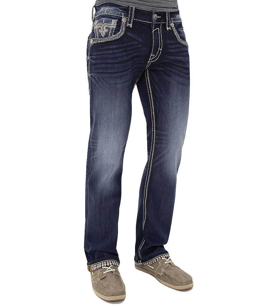 Rock Revival Apollon Slim Straight Jean front view
