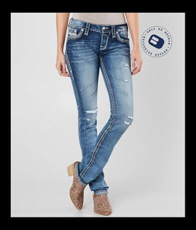 Rock Revival Glade Straight Stretch Jean