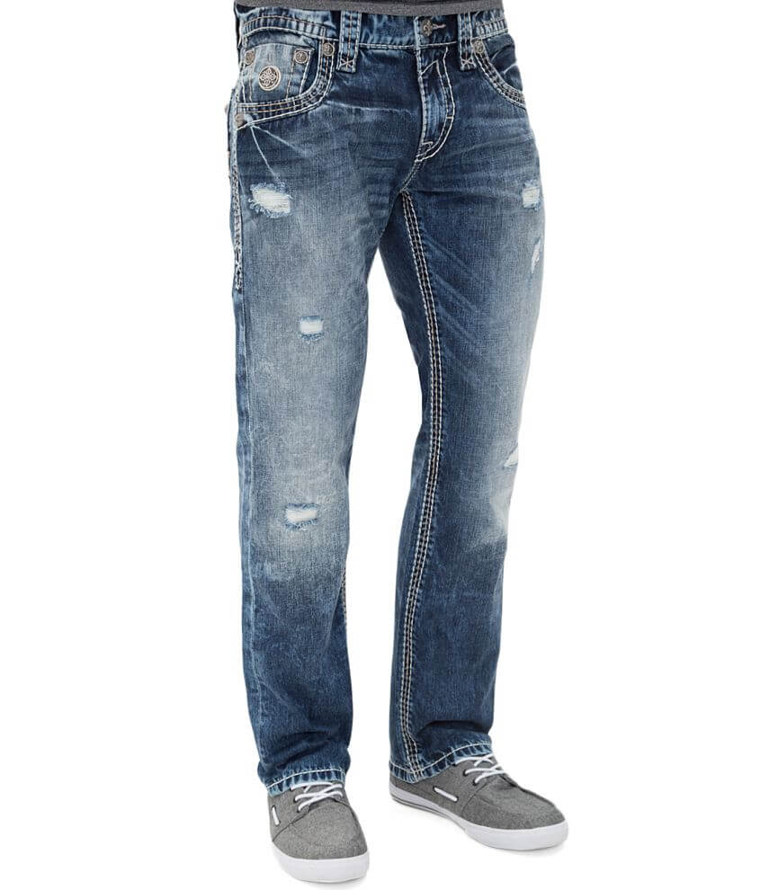 Rock Revival Quity Slim Straight Jean front view