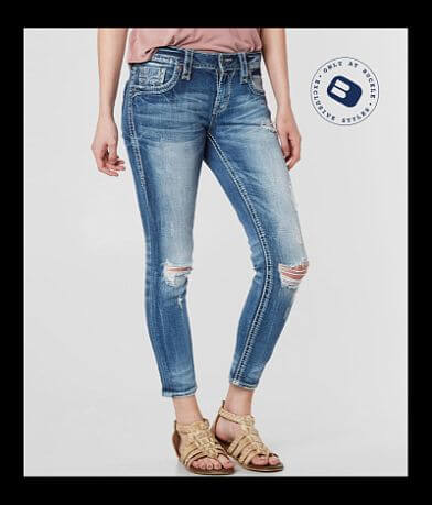 Rock Revival Juleen Ankle Skinny Stretch Jean