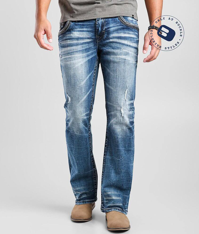 Rock Revival Lunar Rock Slim Boot Stretch Jean front view