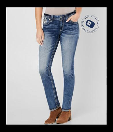 Rock Revival Mertie Easy Straight Stretch Jean