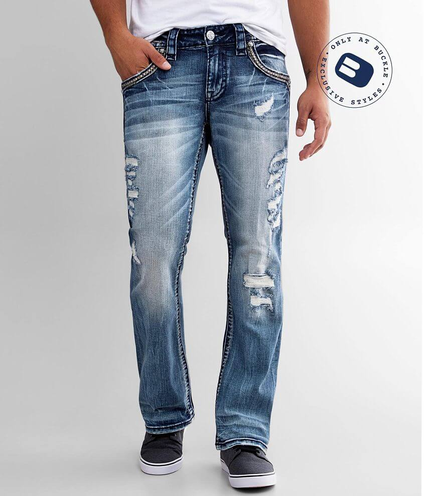 Rock Revival Ridley Slim Boot Stretch Jean front view
