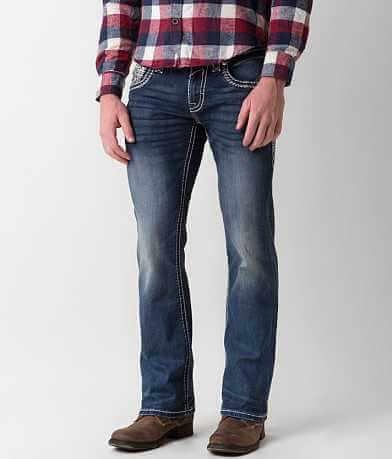 Rock Revival Wynton Slim Boot Stretch Jean