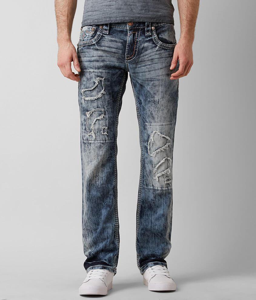 Rock Revival Felex Slim Straight Stretch Jean front view