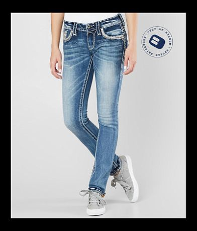 Rock Revival Shaylee Straight Stretch Cuffed Jean