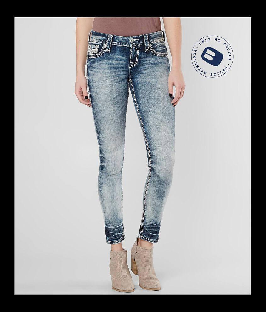 rock revival sakai ankle skinny stretch jean - women's jeans in