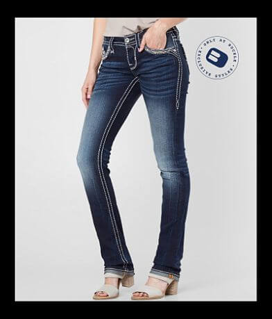 Rock Revival Silana Straight Stretch Jean