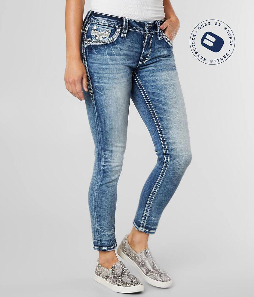 Rock Revival Eilis Easy Ankle Skinny Stretch Jean front view