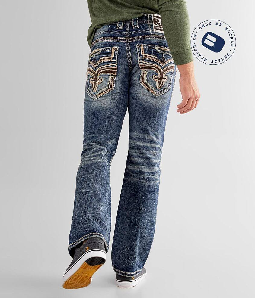 Rock Revival Satellite Slim Boot Stretch Jean front view