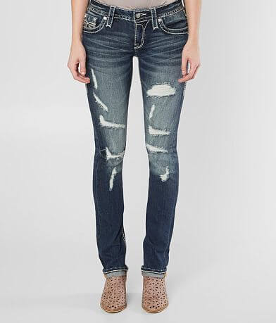 Rock Revival Priya Straight Stretch Jean