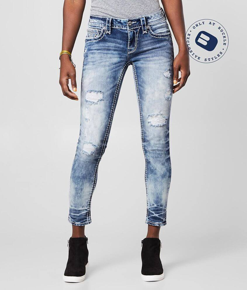 Rock Revival Ferry Ankle Skinny Stretch Jean front view