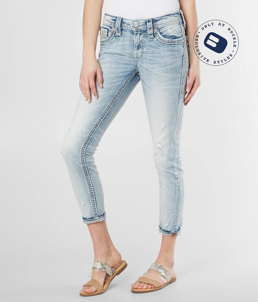 Rock Revival Andray Skinny Stretch Cuffed Jean front view