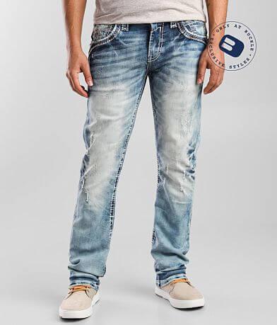 Rock Revival Greyton Slim Straight Stretch Jean