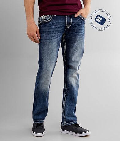 Rock Revival Drennon Relaxed Tapered Stretch Jean