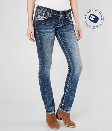 Rock Revival Aliana Straight Stretch Cuffed Jean