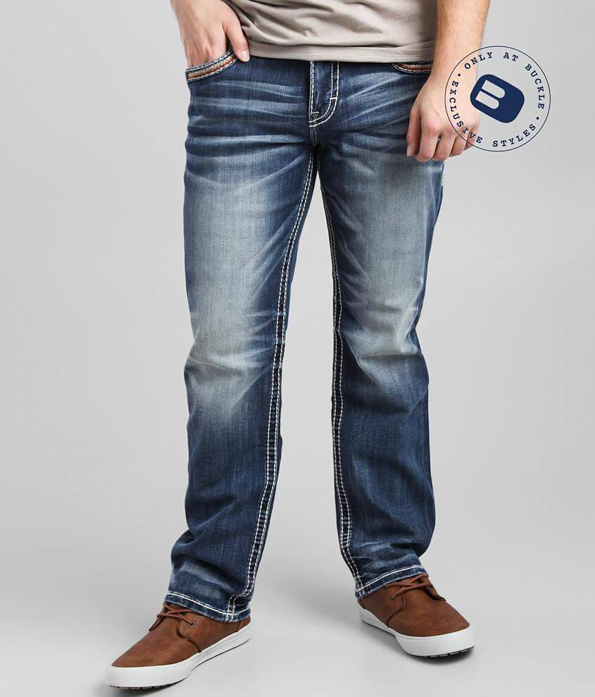 Rock Revival Macken Relaxed Taper Stretch Jean front view