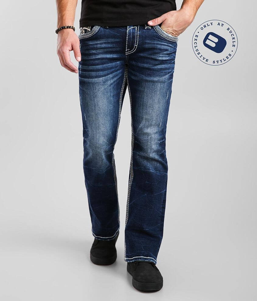 Rock Revival Doe Slim Boot Stretch Jean front view