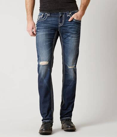 Rock Revival Scarab Slim Straight Stretch Jean