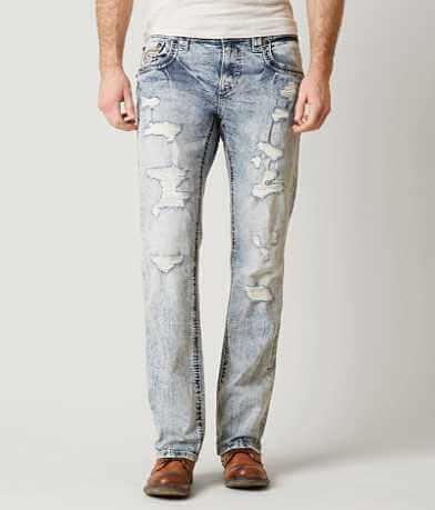 Rock Revival Nardo Relaxed Straight Stretch Jean