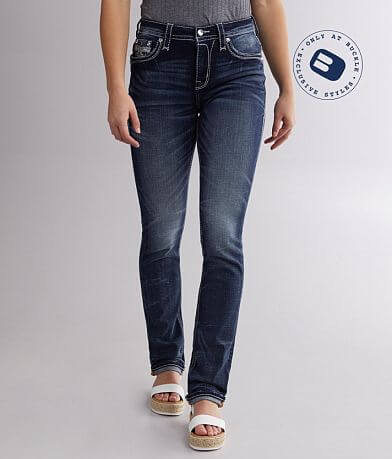 Rock Revival Frann Easy Straight Stretch Jean