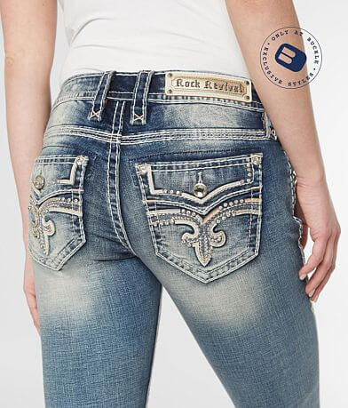 Rock Revival Pecola Straight Stretch Jean