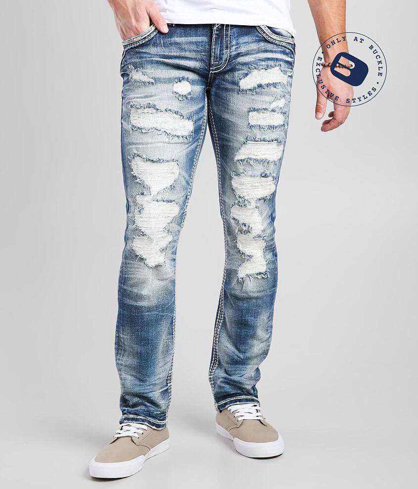 Rock Revival Fawn Slim Straight Stretch Jean front view