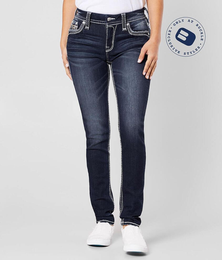 Rock Revival Cellis Easy Mid-Rise Skinny Jean front view