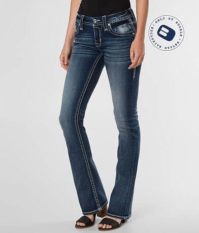 Rock Revival Jessee Mid-Rise Boot Stretch Jean