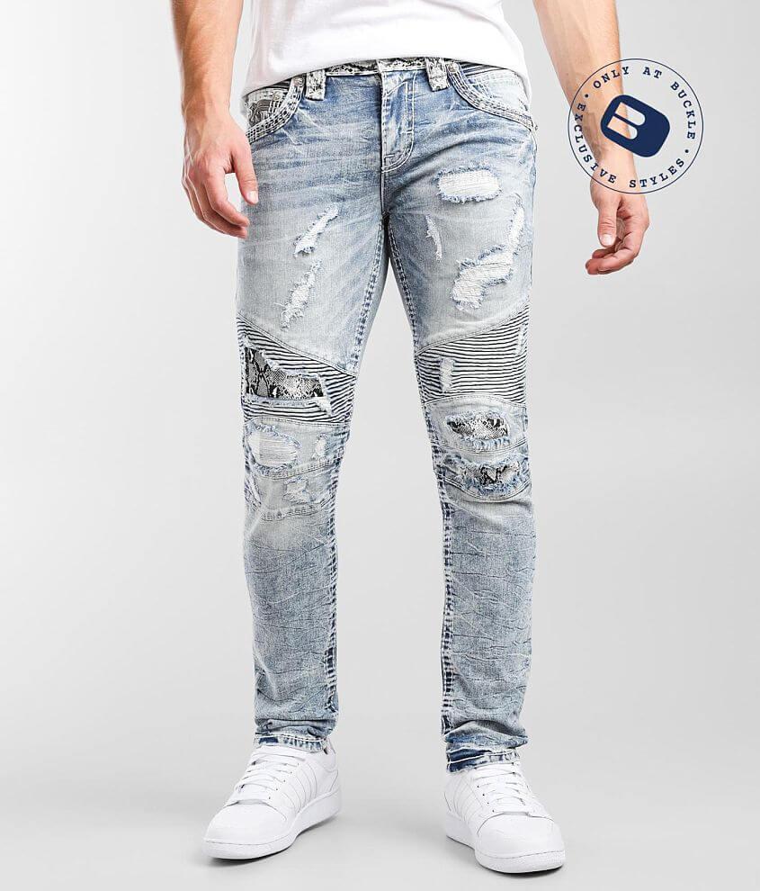 Rock Revival Duke Slim Taper Stretch Jean front view