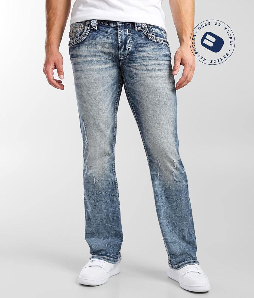Rock Revival Tanner Slim Boot Stretch Jean front view
