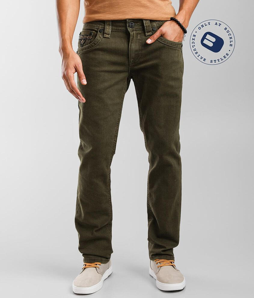Rock Revival Canton Slim Straight Pant front view