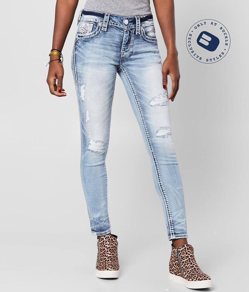 Rock Revival Felda Mid-Rise Ankle Skinny Jean front view